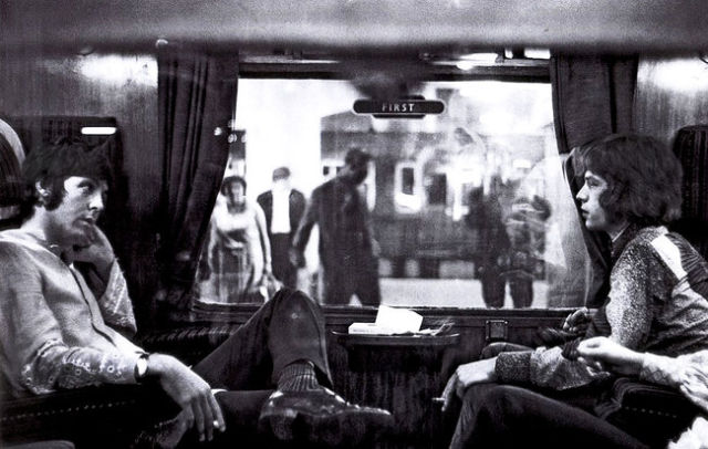 ميك جاغر وبول مكارتني، 1967