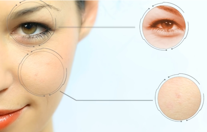 طابعة 3D تضيف المكياج على الوجه في 30 ثانية. أول كذبات ابريل ؟