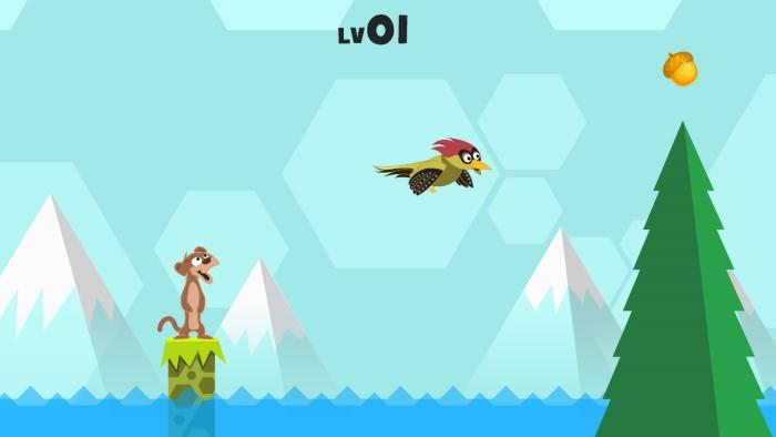 """بعد الانتشار الواسع لهذه الصور الجميلة، فقد استغل بعض مطورو ألعاب الفيديو هذا الحدث والصيت الكبير الذي حصلت عليه، لصنع لعبة فيديو لهذا الطائر صحبة ابن عرس، تم الاعلان عنها مؤخراً، من قِبل شركة """"4dxgames""""."""