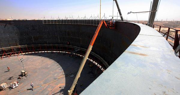 مشروع الخزن الاستراتيجي في جدة يدخل موسوعة غينيس