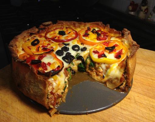 بيتزا بأشكال مختلفة