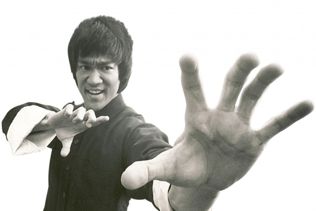 Bruce Lee Boards do not hit back