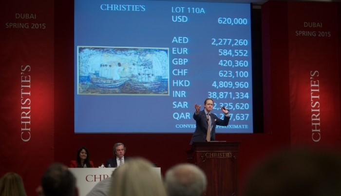 مزاد كريستيز للفنون يحصد 11.4 مليون دولار