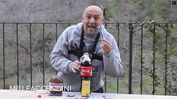 Coke and Mentos Experiments nutella durex
