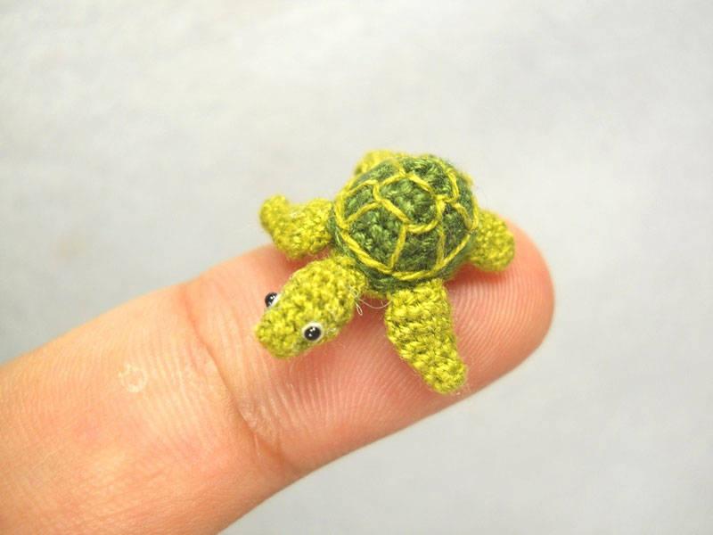Crocheted Tiny Animals  19