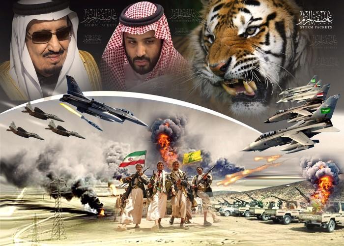 محمد بن سلمان يضرب الحوثيين في اليمن
