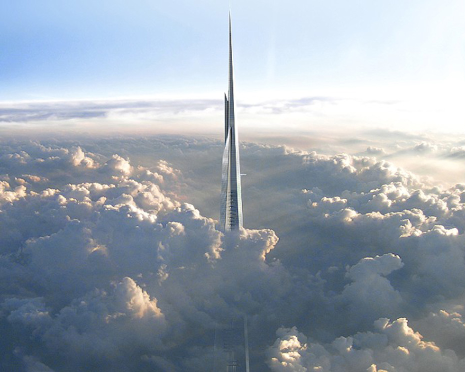 Kingdom Tower Piercing The Sky