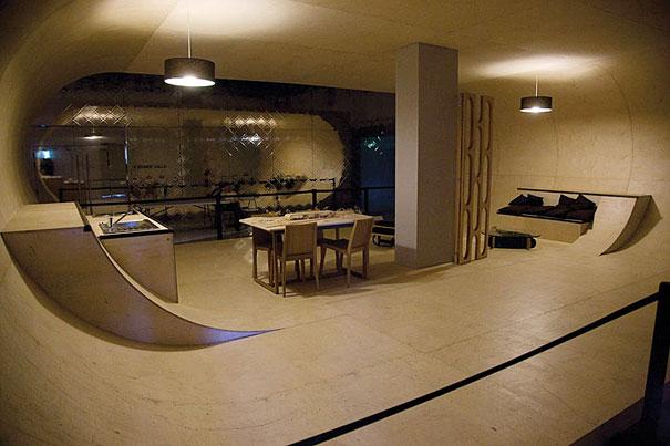 Skateboard House 3