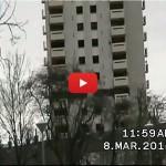 فيديو: 8ثوان فقط لهدم أطول مبنى بمقاطعة بريطانية