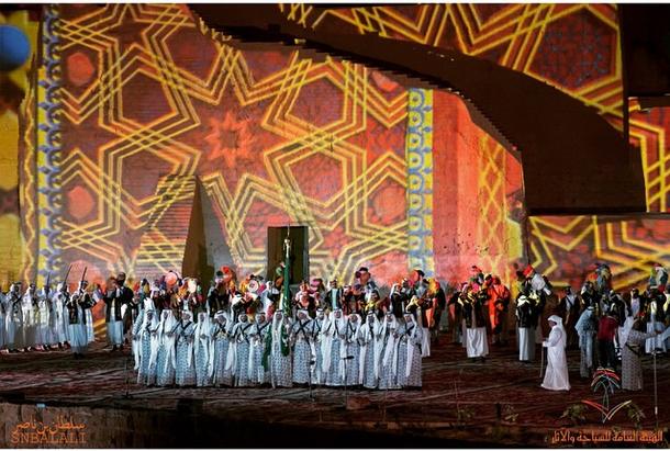 حفل افتتاح مشروع تطوير البجيري ضمن برنامج تطوير الدرعية التاريخية