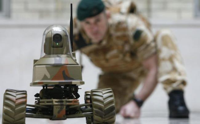 روبوت جندي