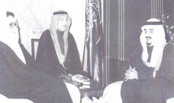 الملك فهد مع بنظير بوتو