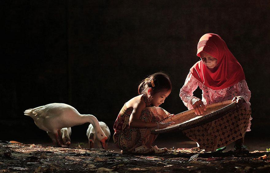 حياة سكان اندونيسيا 3