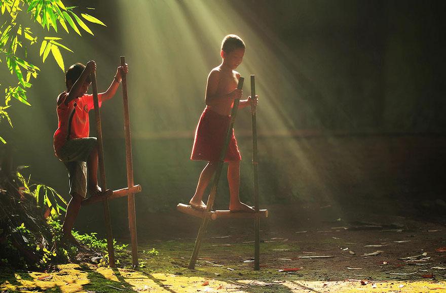 حياة سكان اندونيسيا 7