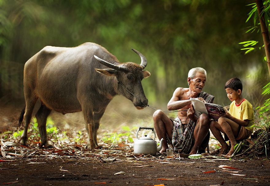 حياة سكان اندونيسيا 8