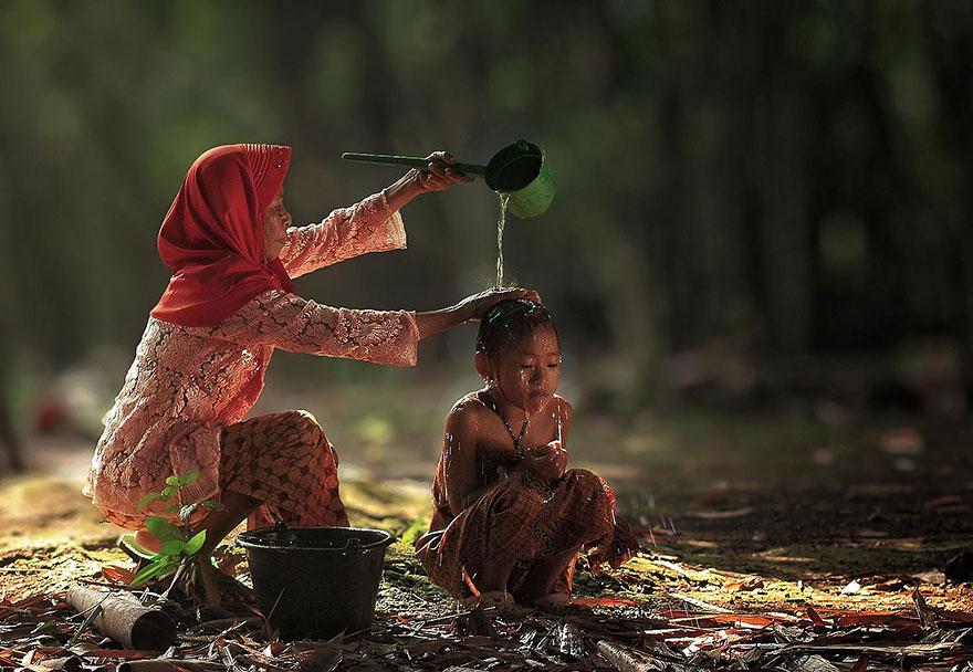 حياة سكان اندونيسيا 9