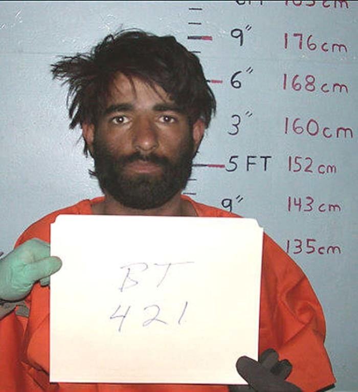 سجين أفغاني في باغرام