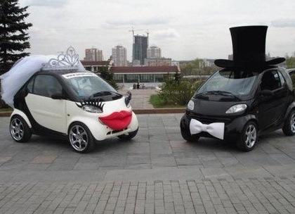 سيارات ذكية مستوحاة من حفل الزفاف