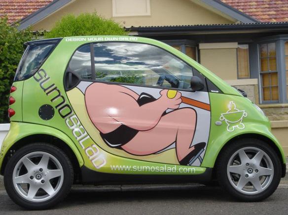 سيارة ذكية مستوحاة من السلطة