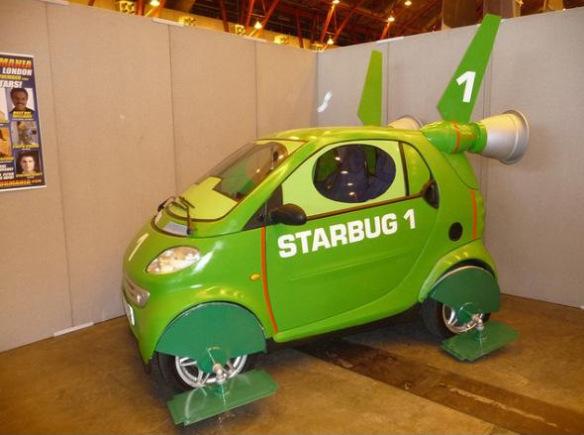 سيارة ذكية مستوحاة من ريد دوارف