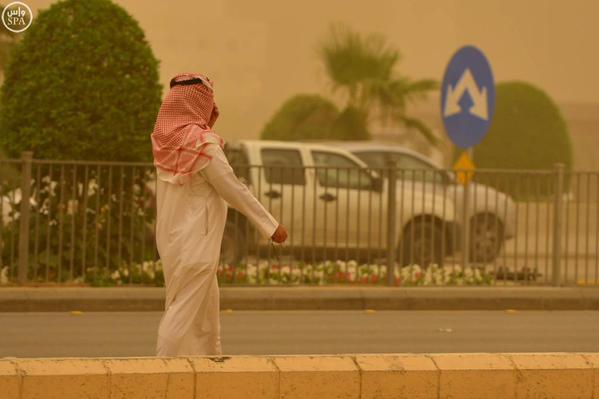 غبار السعودية