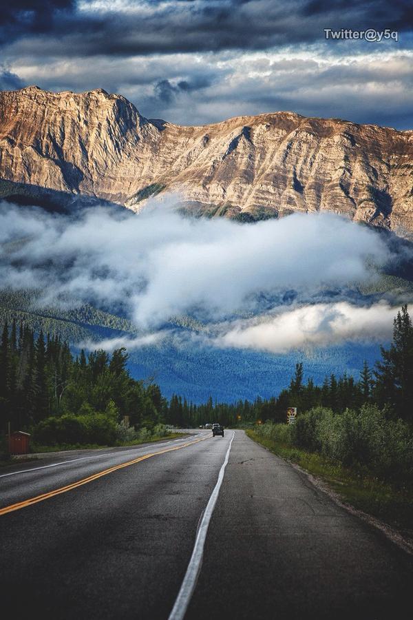 طريق سفر سريع في كندا