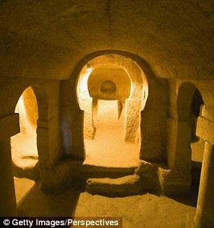 غرفة تحت الأرض