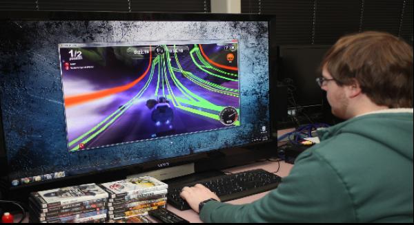 مختبر ألعاب الفيديو