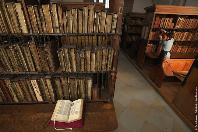مكتبة كاتدرائية هيرفورد