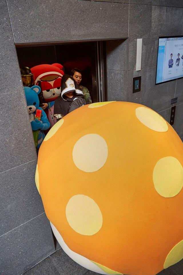 في يوم كذبة ابريل شركة NEXON الكورية لألعاب الفيديو  قامت بالاحتفال على طريقتها الخاصة