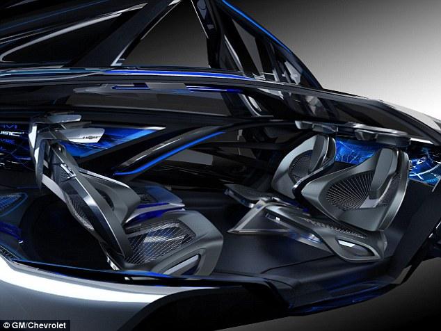 شيفروليه تكشف عن سيارة المستقبل ذاتية القيادة