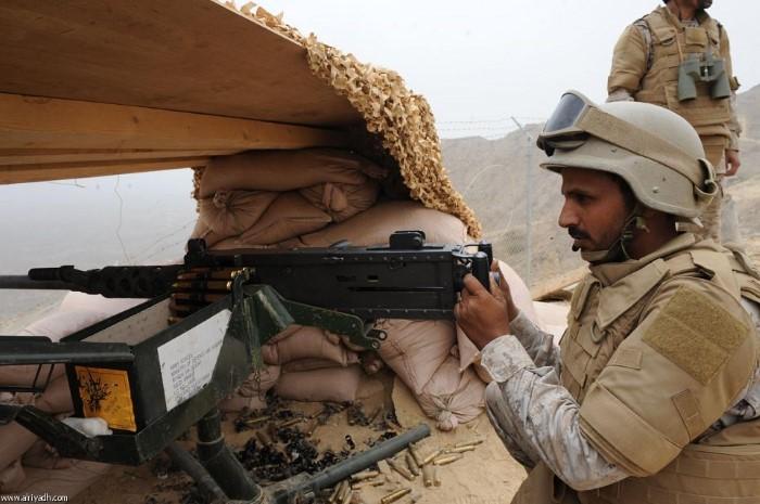 جنود المملكة العربية السعودية في عاصفة الحزم