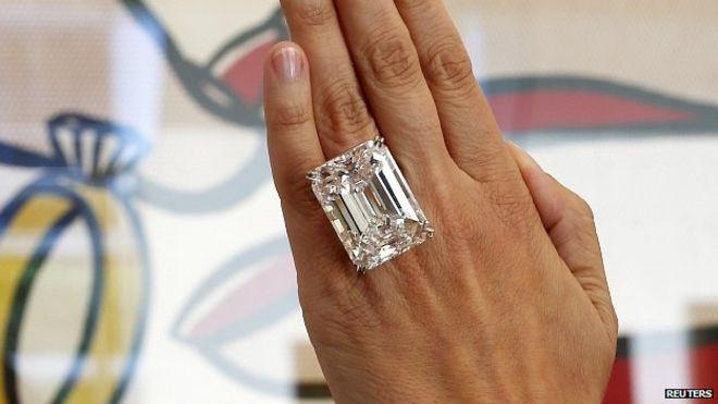 خاتم ألماس يذهب للبيع بسعر 22 مليون دولار