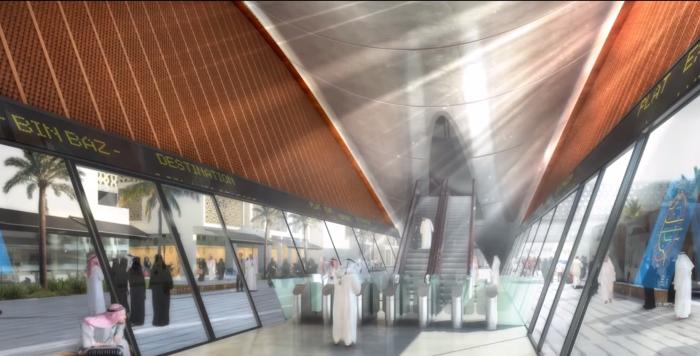 """عرض تخيّلي لـ"""" مترو جدة """" القادم في عام 2020"""