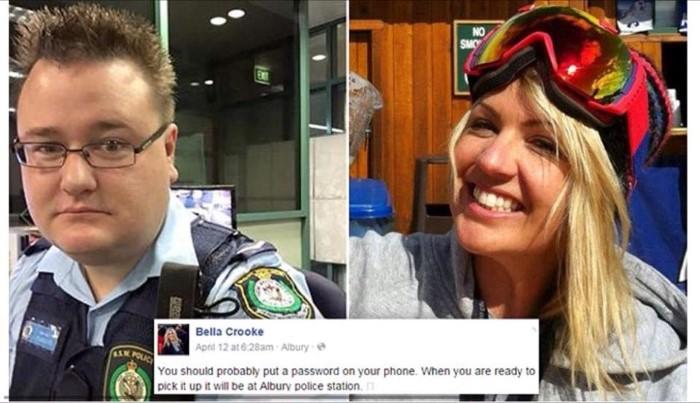 أعاد الهاتف المفقود لصاحبته بعد نشر صور مضحكة على حسابها الفيسبوك
