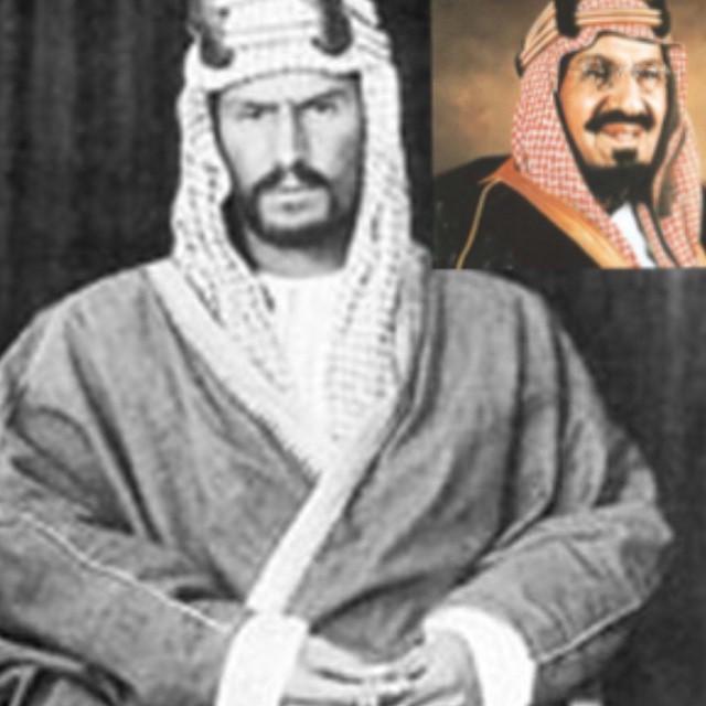 المرحوم باذن الله الملك عبدالعزيز