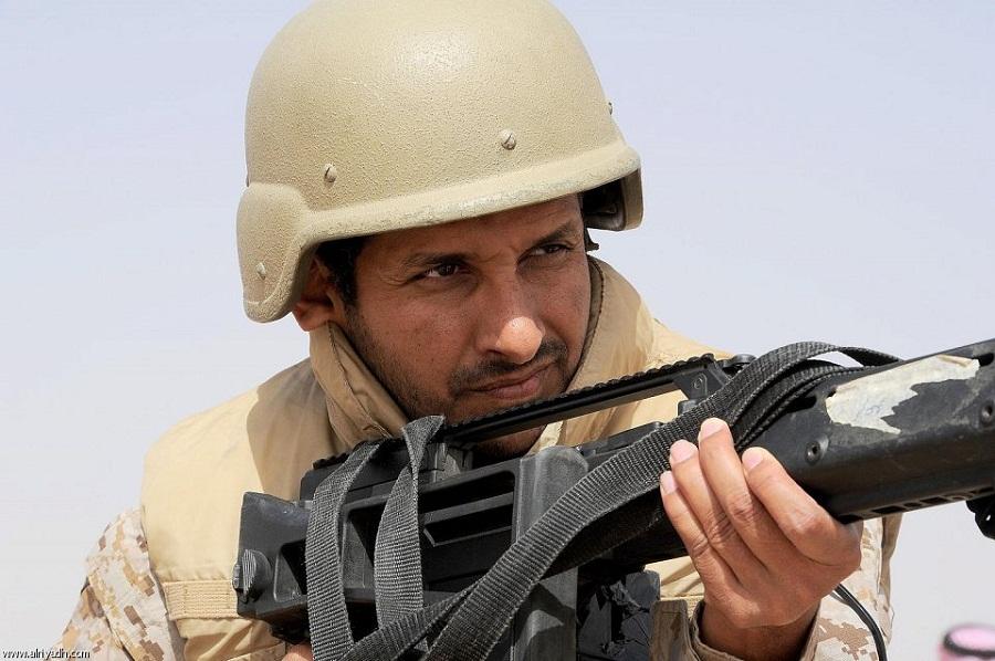 Saudi-border-guards