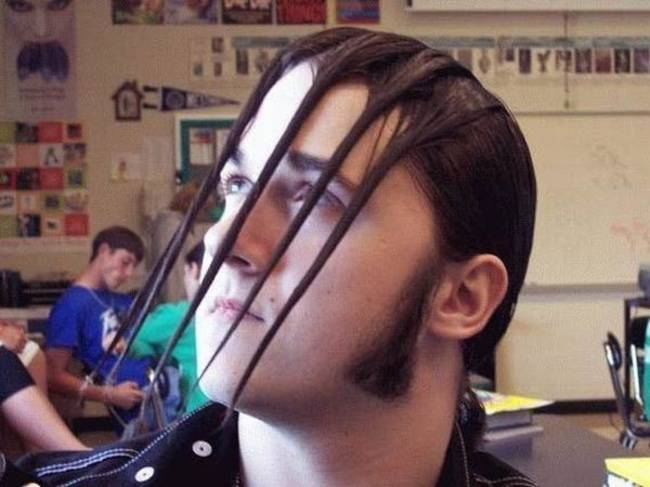 Strange Hairstyle 11