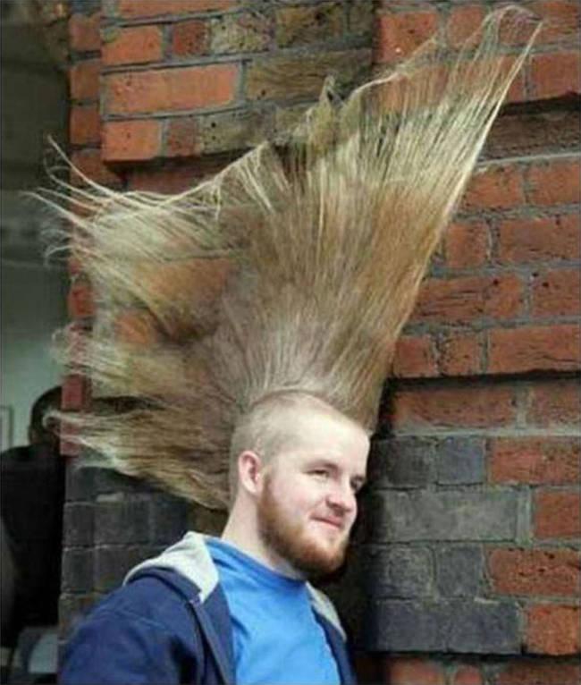 Strange Hairstyle 13