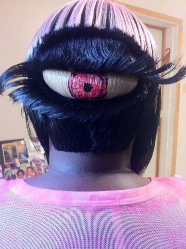 Strange Hairstyle 16