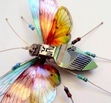 insect-sculptures-circuit-boards