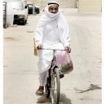 saudi-man-rides-abike