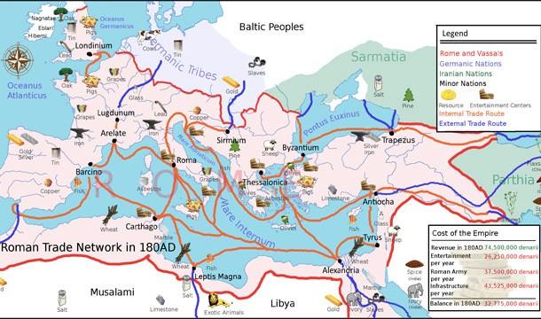 tea trade map