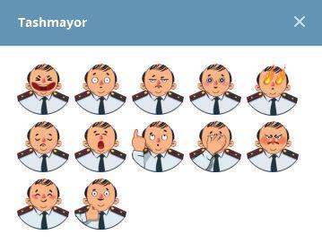استيكرات Tashmayor