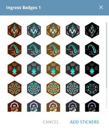 Ingress Badges
