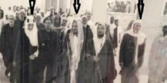 الملك فيصل والألباني وابن باز