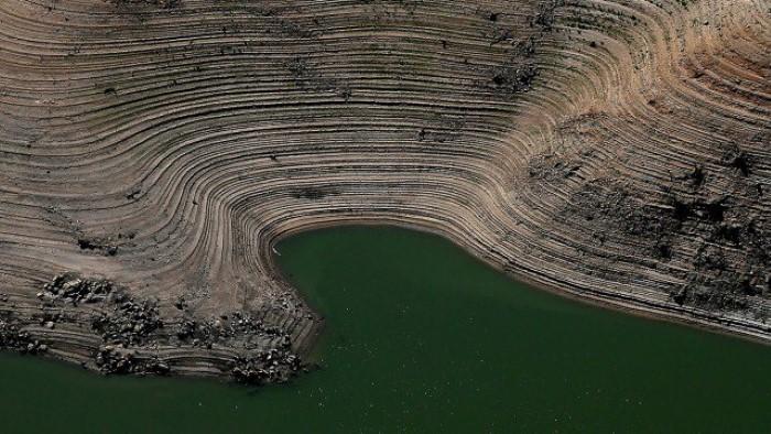 انخفاض منسوب بحيرة فولسوم