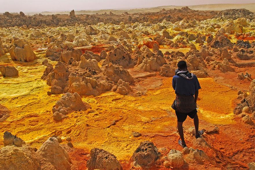 بركان دالول في اثيوبيا