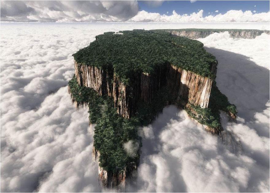 جبل روريما في فنزويلا