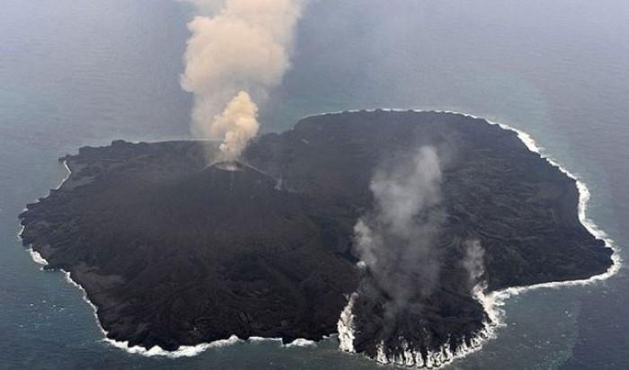 جزيرة بركانية